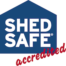 ShedSafe Accreditation_Sheds Shade and Turf