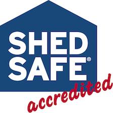 ShedSafe Accreditation_Sheds Shade and Turf
